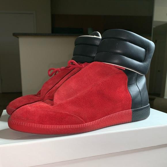 c21a3305d71c Maison Martin Margiela Shoes | Red Black Maison Margiela | Poshmark